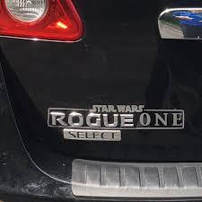 Rogue One Nissan Rogue Star Wars Vinyl Decal Rogue One Vinyl Decal Star Wars Decal Star Wars Decal Nissan Rogue Rogues