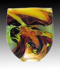 hand blown glass sculpture by noel hart