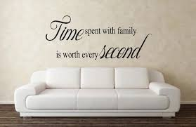 Time Spent With Family Is Worth Every Second Wall Decal Michigan Decals Michigan Apparel Michigan Clothing