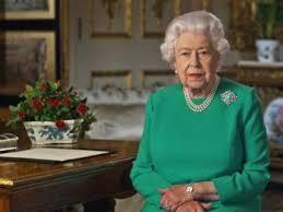 Coronavirus, il discorso della regina Elisabetta in tv per quattro ...