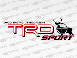 Toyota Trd Sport Deer Hunting Decal Stickers