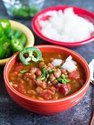 Pressure Cooker Southwestern Pinto Bean Soup - DadCooksDinner