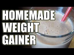 homemade weight gainer for bulking