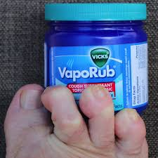 why does vicks vaporub help against