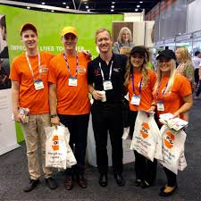 """PDL on Twitter: """"The fabulous #PDL promo staff @APPConf2015 Adele Jacobs,  Dannii Martin, Jy Moloney, Robert Kelsey with @NAPSAPres  http://t.co/yiZ48xkddH"""""""