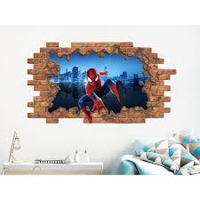 Shop Spiderman Wall Decal Superhero Vinyl Stickers Boys Above Bed Decor Overstock 31691117