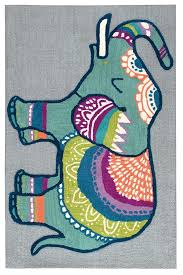 Rizzy Home Play Day Elephant Rugs Rugs Direct