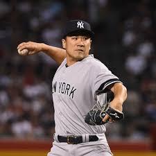 Yankees pitcher Masahiro Tanaka is ...