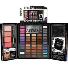 l a colors 63 pc makeup affair eye
