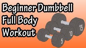 dumbbell full body workout for
