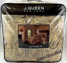 j queen 4 pc valdosta king comforter