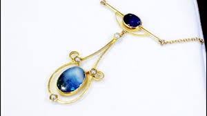 black opal necklace victorian
