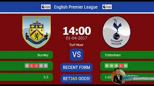 Burnley vs Tottenham PREDICTION (by ...