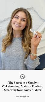 makeup routine