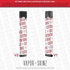 Juul Skinz Wraps Decals Stickers Vapor Skinz