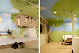 Tree House In Babies And Kids Room Decoration Modern Kids Room Kid Room Decor Kids Room Furniture