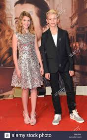 Actress Sophie Nelisse and actor Nico Liersch at the premiere of the Stock  Photo - Alamy