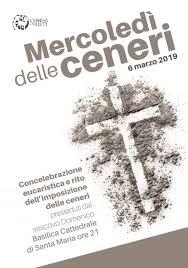 Mercoledì delle ceneri / Locandina – Chiesa di Rieti