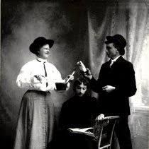 Print, Photographic - Edith Smith, Mimie & Robert Englemann