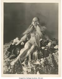 """Evelyn Brent by Otto Dyar (Paramount, 1920s). Portrait (11"""" X 