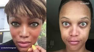 celebrity no makeup challenge