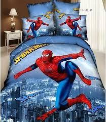 fashion new cartoon spider man bedding