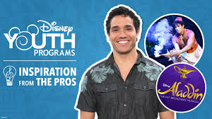 Inspiration from the Pros: Adam Jacobs from Disney's Aladdin on Broadway |  Disney Youth Programs Blog