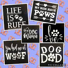 Pet Vinyl Decals Paws N Claws Couture