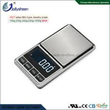 pocket scale with snless steel pan