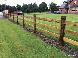 Mortice Fence Using 1 8m X 150mm X 150mm Posts And 4 8m X 150 X 44 Rails Pressure Treated Post Centres Are At Landscape Timbers Wood Fence Design Fence Design