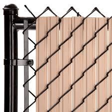 Maximum Privacy Beige Solitube Slats For 8ft Chain Link Fence Walmart Com Walmart Com