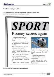Newspaper Report Writing Examples in ...