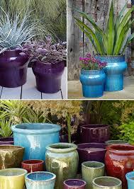 glazed pottery