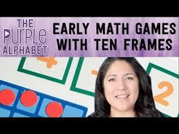 easy pre math ten frame