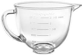 3 5 quart tilt head glass bowl