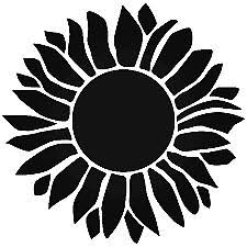 Sunflower Vinyl Decal Sticker Car Window Wall 4