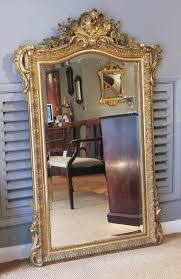 antique gilt pier mirror gilt