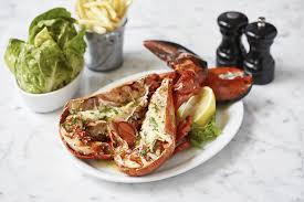 lobster dishes in London ...