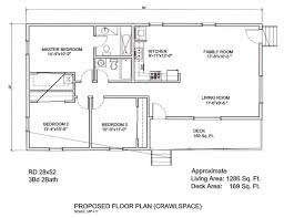 2 bed bath house plan ranch style