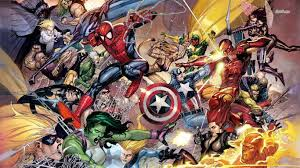 marvel character wallpaper 1366x768 px
