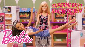 barbie in supermarket showdown barbie