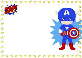 7 Marcos Editables De Superheroes Y Heroinas Tema De Super Heroe