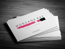 makeup business card design saubhaya