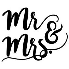 Amazon Com Mr And Mrs Vinyl Sticker Automotive