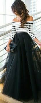 fashionable varieties of long skirts
