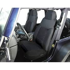 rugged ridge fabric front seat covers