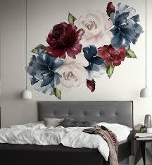 House Of Hampton 25 Piece Peony Rose Floral Wall Decal Set Reviews Wayfair