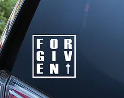 Forgiven Decals Etsy