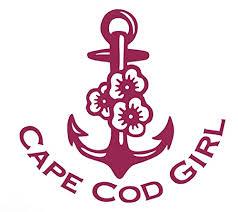 Amazon Com Custom Anchor Hibiscus Cape Cod Girl Vinyl Decal Beach Bumper Sticker For Tumblers Laptops Car Windows Personalized Cape Cod Gift Handmade