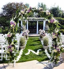 wedding decorations specialy garden